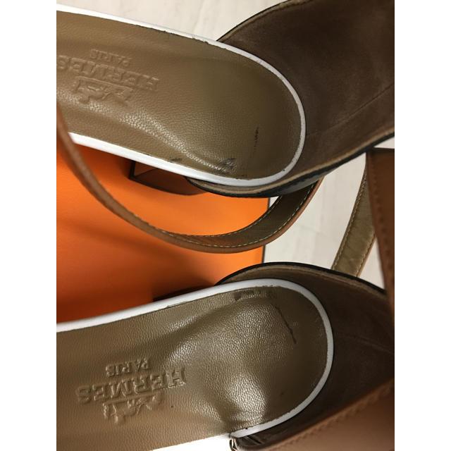 Hermes(エルメス)のエルメス  サンダル ケリー レディースの靴/シューズ(サンダル)の商品写真