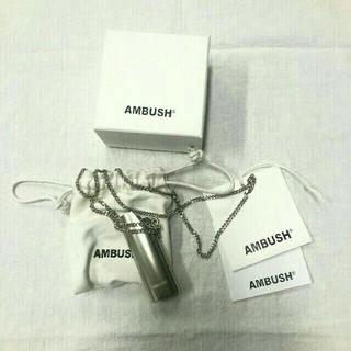 アンブッシュ(AMBUSH)のAMBUSH アンブッシュ ネックレス ライターケース 新品(ネックレス)
