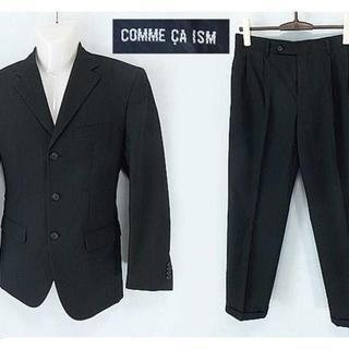 コムサイズム(COMME CA ISM)の【COMME CA ISM】 美品 コムサイズム ストライプ セットアップスーツ(セットアップ)