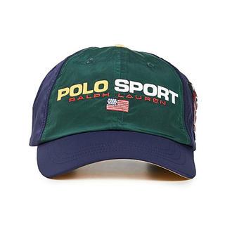 ポロラルフローレン(POLO RALPH LAUREN)の激レア POLO SPORTキャップ MULTI(キャップ)