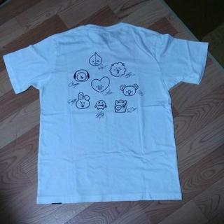 ボウダンショウネンダン(防弾少年団(BTS))のBt21×ユニクロコラボtシャツ L(Tシャツ/カットソー(半袖/袖なし))