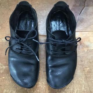 トリッペン(trippen)のトリッペンの靴 ローファ  黒   23.5cm(ローファー/革靴)