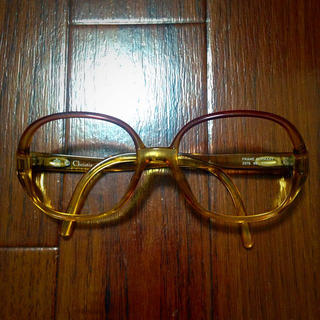 ディオール(Dior)のディオール ヴィンテージ 伊達眼鏡(サングラス/メガネ)