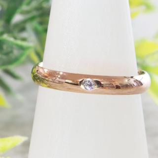 ノーマルでシンプル3mm幅リング指輪 ペアリングにもオススメ(リング(指輪))