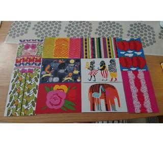 マリメッコ(marimekko)のmarimekko ポストカード(その他)