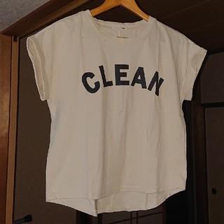 ディニテコリエ定番Tシャツ■ベージュ■5回程度着用(Tシャツ(半袖/袖なし))