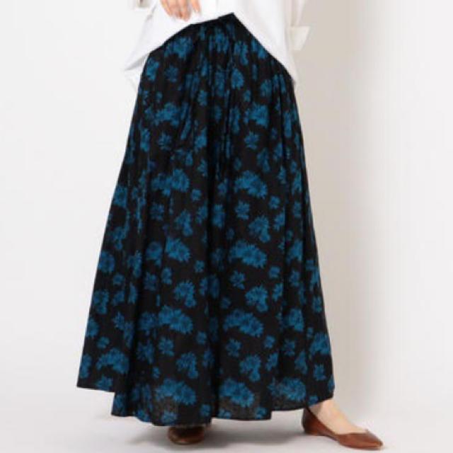 SHIPS(シップス)のシップス フラワープリントスカートM レディースのスカート(ロングスカート)の商品写真
