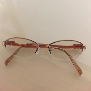 ジルスチュアート(JILLSTUART)のジルスチュアート ピンクゴールド 眼鏡(サングラス/メガネ)