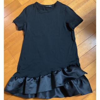 バーニーズニューヨーク(BARNEYS NEW YORK)のYOKO CHANアシンメトリーカットソー♡ヨーコチャン半袖Tシャツ・バーニーズ(Tシャツ(半袖/袖なし))