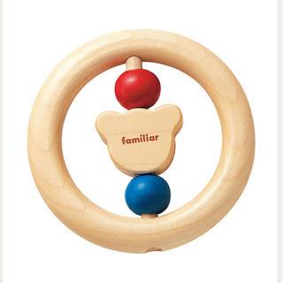 familiar - 【新品未開封】ファミリア おもちゃ ラトル