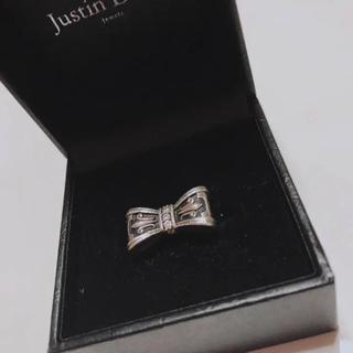 ジャスティンデイビス(Justin Davis)のジャスティン プロミスリング 指輪(リング(指輪))