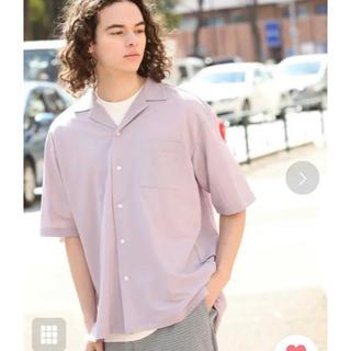 ジュンレッド(JUNRED)のJUNRed マイクロカノコ オープンカラーシャツ L(シャツ)