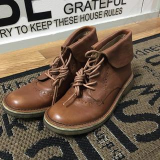 アシナガオジサン(あしながおじさん)のあしながおじさん皮靴(ローファー/革靴)