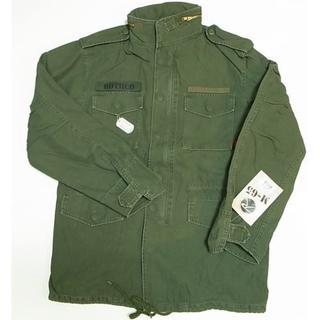ロスコ(ROTHCO)の ロスコ M-65 FIELD JACKET ビンテージ加工 オリーブ L (ミリタリージャケット)