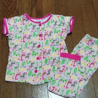 アンパサンド(ampersand)のパジャマ!半袖!長ズボン!女の子110!アンパサンド!前ボタン!(パジャマ)