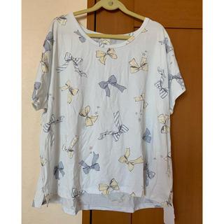 ジェラートピケ(gelato pique)のさぁ様専用 gelato  pique  リボン柄Tシャツ(Tシャツ(半袖/袖なし))