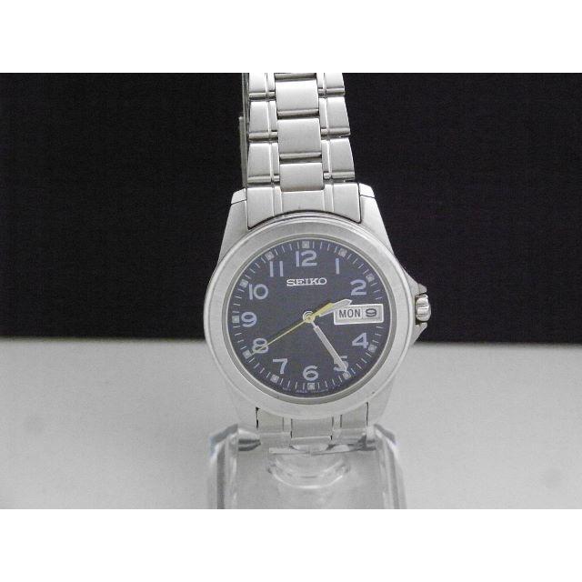 SEIKO - SEIKO デイデイト 蛍光 腕時計 ブラックダイアル イエロー針の通販 by Arouse 's shop|セイコーならラクマ