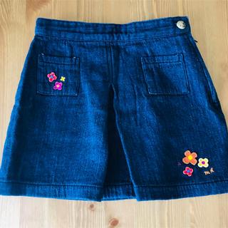 ミキハウス(mikihouse)の◇美品◇ミキハウス 柔らかなデニムスカート 110(スカート)