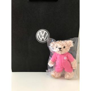 フォルクスワーゲン(Volkswagen)のフォルクスワーゲン  くまキーホルダー新品(キーホルダー)