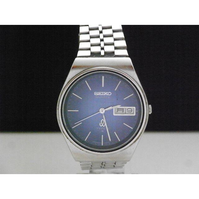 SEIKO - SEIKO TYPEⅡ デイデイト 腕時計 ブルーダイアル ヴィンテージの通販 by Arouse 's shop|セイコーならラクマ
