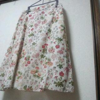 ドゥファミリー(DO!FAMILY)のドゥファミリー お花柄スカート(ひざ丈スカート)