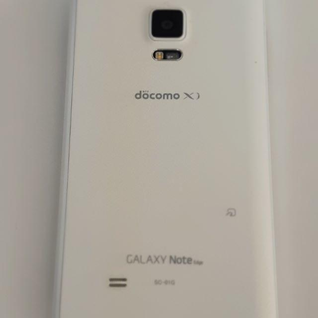 Galaxy(ギャラクシー)のGalaxy Note edge SC-01G 32GB docomo 美品 スマホ/家電/カメラのスマートフォン/携帯電話(スマートフォン本体)の商品写真