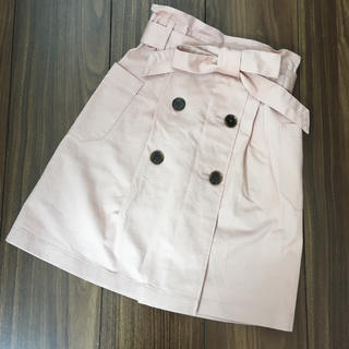ジーユー(GU)のGU トレンチスカート 120(スカート)