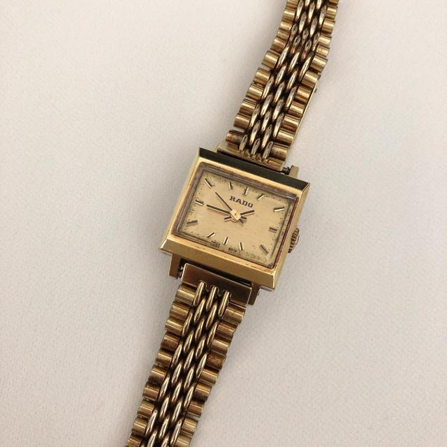 RADO - ラドー    レディース手巻き腕時計  スイス製 稼動 箱付の通販 by じゅん's shop|ラドーならラクマ