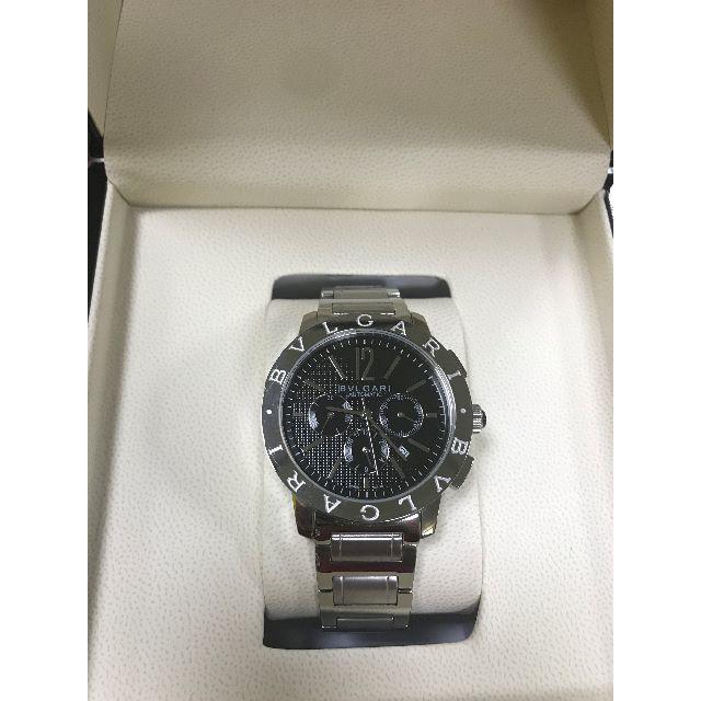 BVLGARI - ブルガリ BVLGARI ブルガリブルガリ クロノグラフ メンズ 腕時計 中古の通販 by ハキル's shop|ブルガリならラクマ