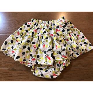 ボンポワン(Bonpoint)のmonbebe スカート付きブルマ(スカート)