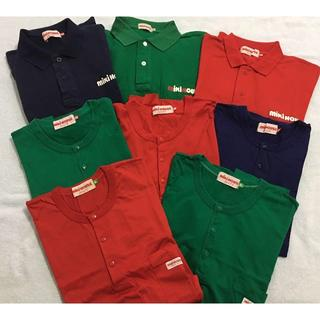 ミキハウス(mikihouse)のミキハウス mikiHOUSE Tシャツ ポロシャツ ヘンリーネック 8枚セット(Tシャツ/カットソー(半袖/袖なし))