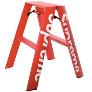 シュプリーム(Supreme)の supreme Lucano step ladder red 脚立(その他)
