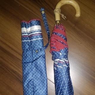 ポロラルフローレン(POLO RALPH LAUREN)のラルフローレン 長い折りたたみ傘(傘)