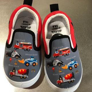 Disney - ディズニー 車 スリッポン