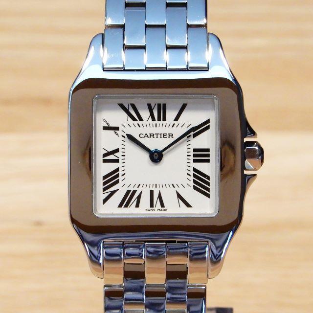 Cartier - 超美品 カルティエ サントス ドゥモワゼル LM ボーイズ 四角 レディースの通販 by Backyard|カルティエならラクマ