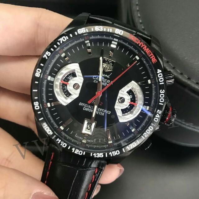 TAG Heuer - TAG HEUER メンズ 腕時計  タグホイヤー カレラ クロノグラフ   の通販 by オノ's shop|タグホイヤーならラクマ