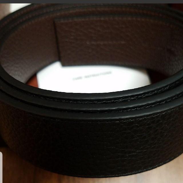 COACH(コーチ)のCOACHメンズベルト(新品)リバーシブル メンズのファッション小物(ベルト)の商品写真