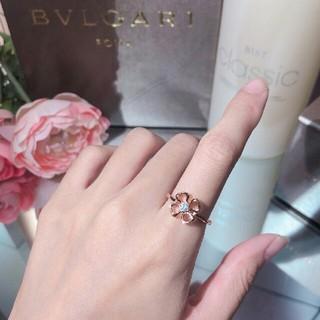 ブルガリ(BVLGARI)の花 リング BVLGARI ブルガリ 超美品(リング(指輪))