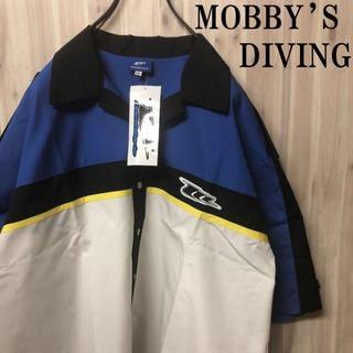 クイックシルバー(QUIKSILVER)の新品 【LL】MOBBY'S DIVING【モビーズ】マリンシャツ 青・白(サーフィン)