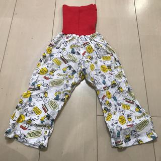 スヌーピー(SNOOPY)の腹巻付き ステテコ パジャマ パンツ 95 スヌーピー      (パンツ/スパッツ)