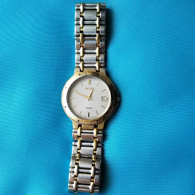 SEIKO - SEIKOソーラー腕時計 メンズの通販 by aur.|セイコーならラクマ