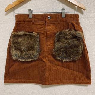 アベイル(Avail)のアベイル 台形コードュロイスカート(ミニスカート)
