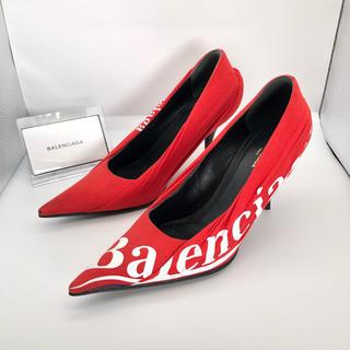 バレンシアガ(Balenciaga)の2017 BALENCIAGA バレンシアガ パンプス ヒール 靴 正規品(ハイヒール/パンプス)