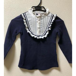 モナリザ(MONNALISA)の美品 フリル トップス(Tシャツ/カットソー)