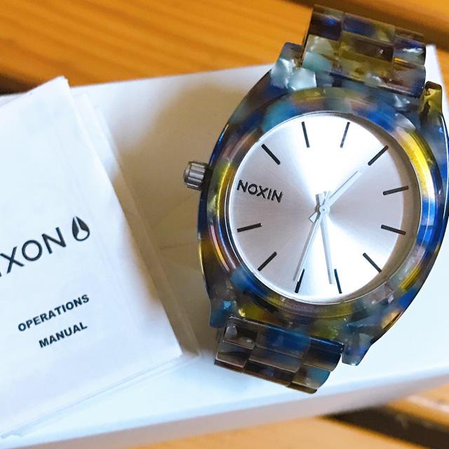 NIXON - ニクソン タイムテラー パープルアセテート NIXON TIMETELLERの通販 by @aya*s shop♡|ニクソンならラクマ