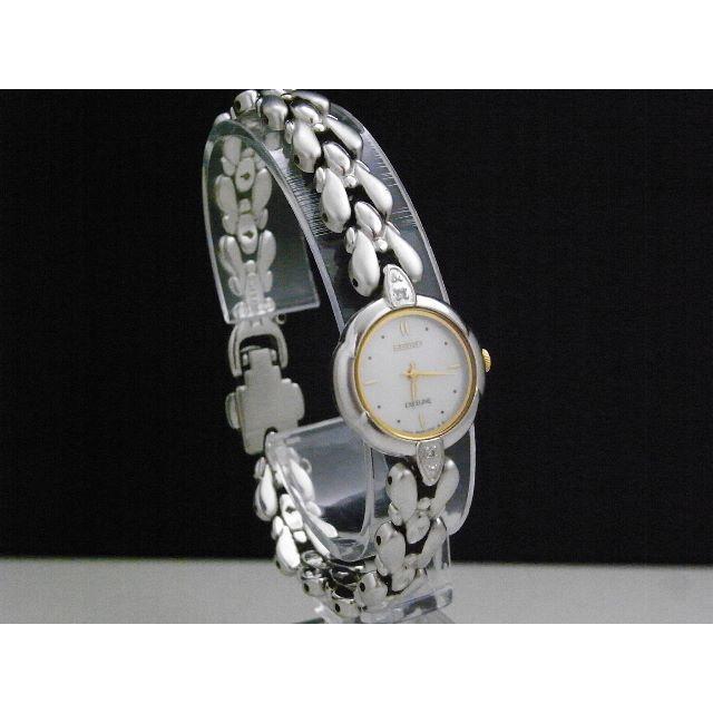 SEIKO - SEIKO Exceline 腕時計  ダイヤモンド2P シェル ラウンドの通販 by Arouse 's shop|セイコーならラクマ