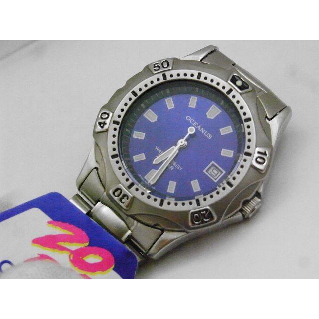 CASIO - CASIO OCEANUS ダイバーウォッチ デッドストック 初期モデル ブルーの通販 by Arouse 's shop|カシオならラクマ