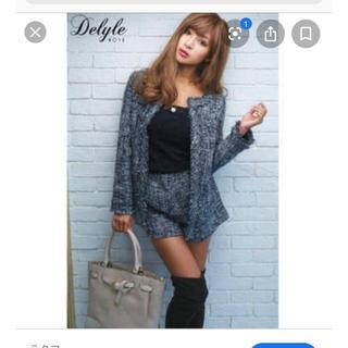 デイライルノアール(Delyle NOIR)のDelyle NOIR ツイードジャケット&ショーパン(ショートパンツ)