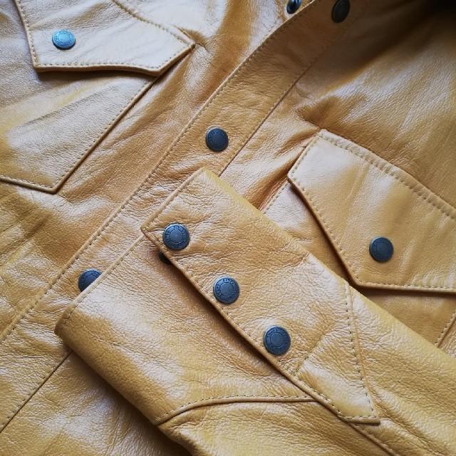 alksndlia(アレクサンドリア)のレザージャケット メンズのジャケット/アウター(レザージャケット)の商品写真