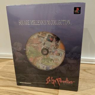 PlayStation - 【新品】スクウェア ミレニアム コレクション サガ フロンティア2